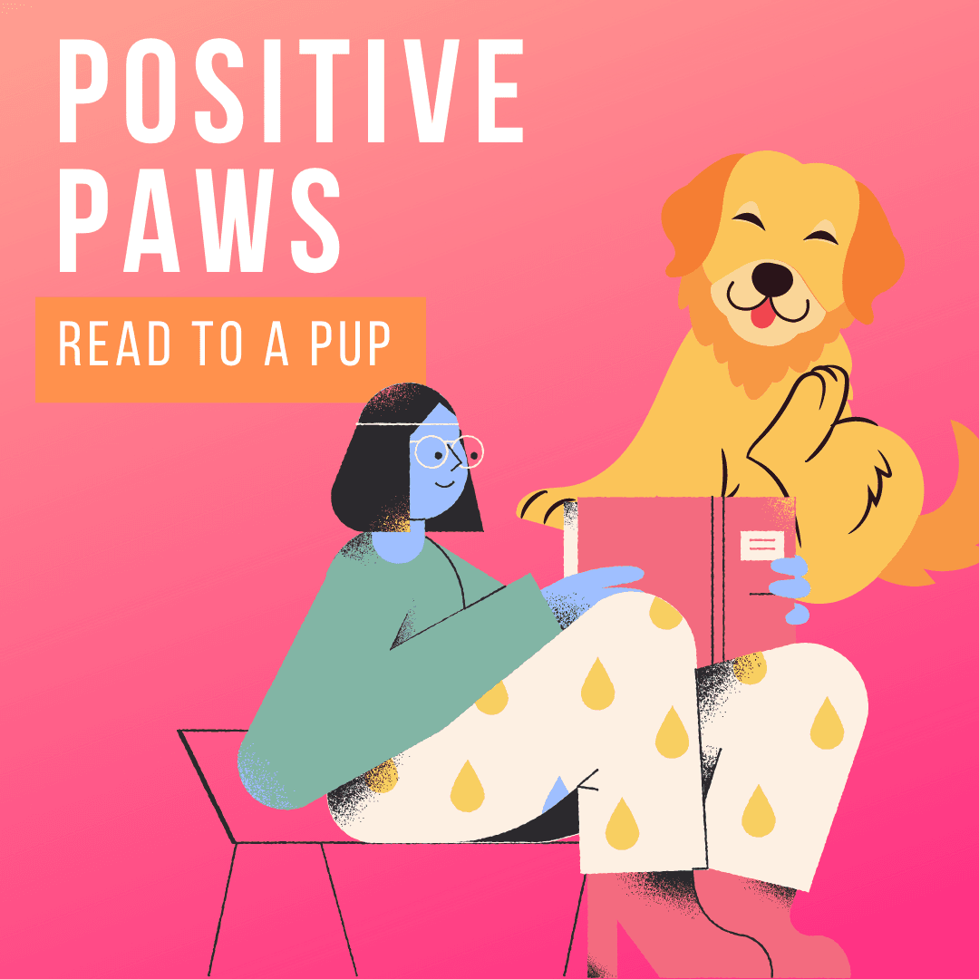 Positive Paws Read to a Pup