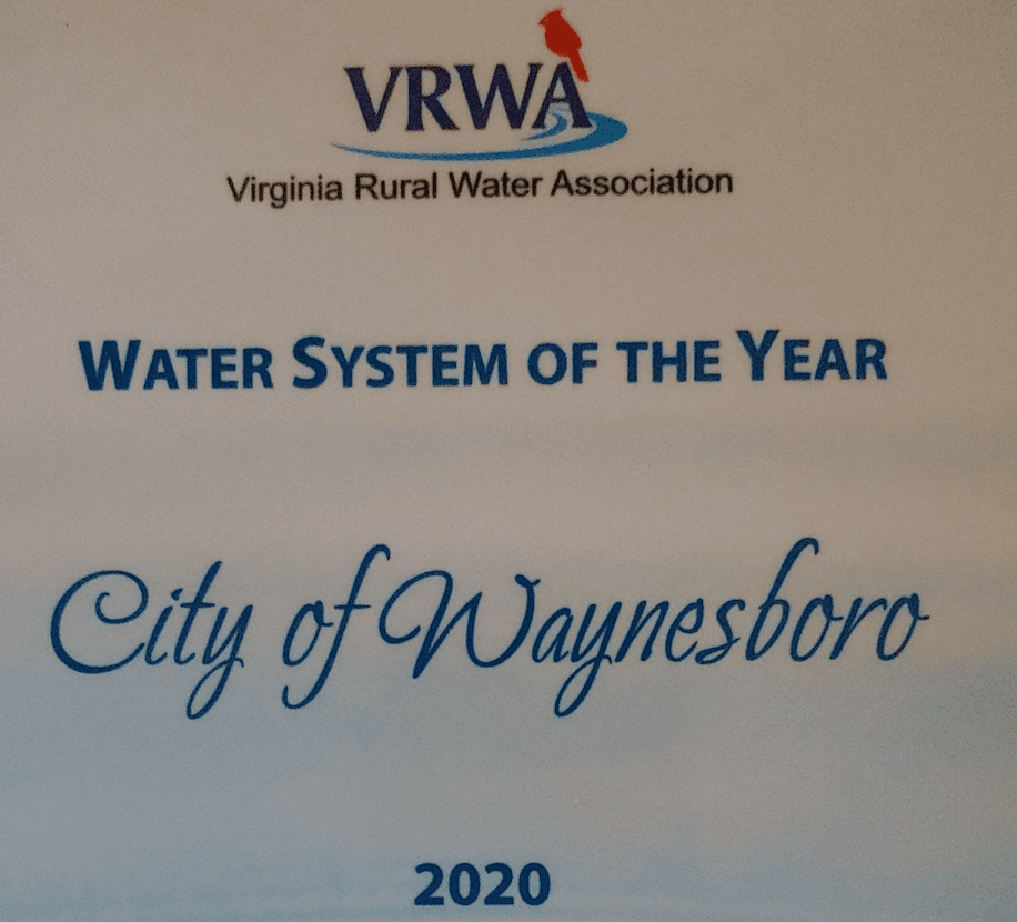 2020 Water System of the Year