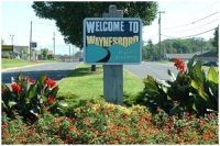 Welcome to Waynesboro Sign