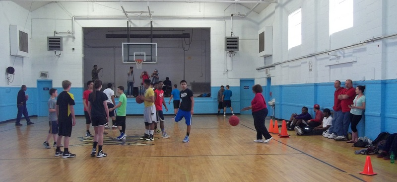 3 on 3 basketball