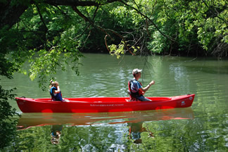 Canoing on the South River
