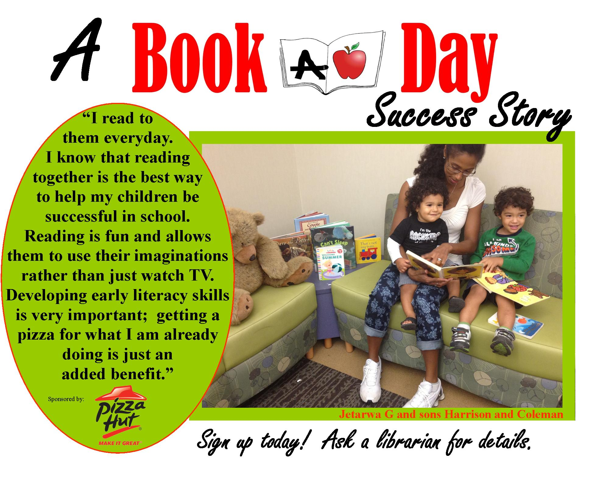 Book a Day Success Story